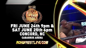 ROH Wrestling TV Spot, '2016 ROH Aftershock Tour'