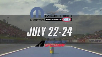 NHRA TV Spot, 'Summit, Route 66, Mopar Mile High Nationals' - Thumbnail 8