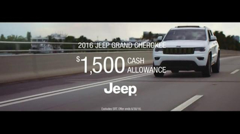 2016 Jeep Grand Cherokee TV Spot, 'Summer Wanderer: Stylish Ride'