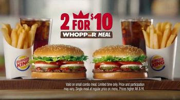 Burger King 2 for $10 Whopper Meal TV Spot, 'Fans' - Thumbnail 7