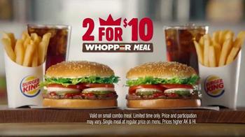 Burger King 2 for $10 Whopper Meal TV Spot, 'Fans' - Thumbnail 7