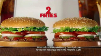 Burger King 2 for $10 Whopper Meal TV Spot, 'Fans' - Thumbnail 5