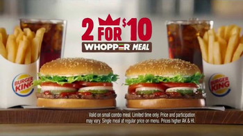 Burger King 2 for $10 Whopper Meal TV Spot, 'Fans' - Thumbnail 6