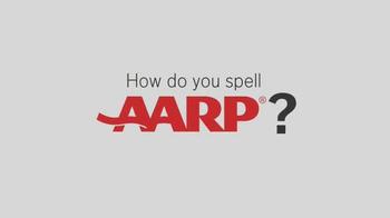 AARP TV Spot, 'How Do You Spell AARP?' - Thumbnail 1