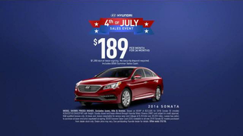 Hyundai 4th of July Sales Event TV Spot, 'Wait for It' [T2] - Thumbnail 8