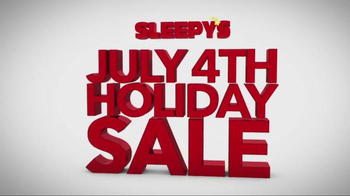 Sleepy's July 4th Holiday Sale TV Spot, 'Queen Sets'