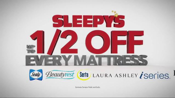 Sleepy's July 4th Holiday Sale TV Spot, 'Queen Sets' - Thumbnail 2