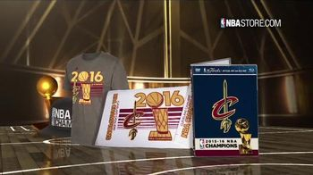 NBA Store TV Spot, '2016 Championship Collection' - 359 commercial airings
