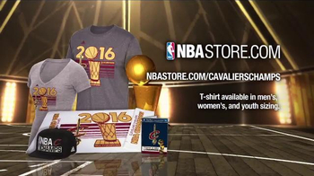 NBA Store TV Spot, '2016 Championship Collection' - Thumbnail 3