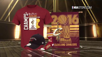 NBA Store TV Spot, '2016 Championship Collection' - Thumbnail 1