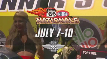 NHRA TV Spot, 'Route 66 Nationals'
