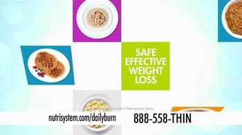Nutrisystem Turbo10 TV Spot, 'Daily Burn' Featuring Marie Osmond - Thumbnail 3