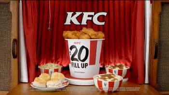 KFC $20 Fill Ups TV Spot, 'Doble empanizado' [Spanish] - Thumbnail 10