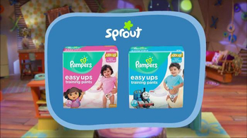 Pampers Easy Ups TV Spot, 'Sprout: Bedtime' - Thumbnail 10