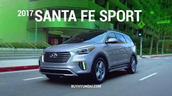 Hyundai Pay-cation Sales Event TV Spot, 'Tuscon & Santa Fe Sport' - Thumbnail 5