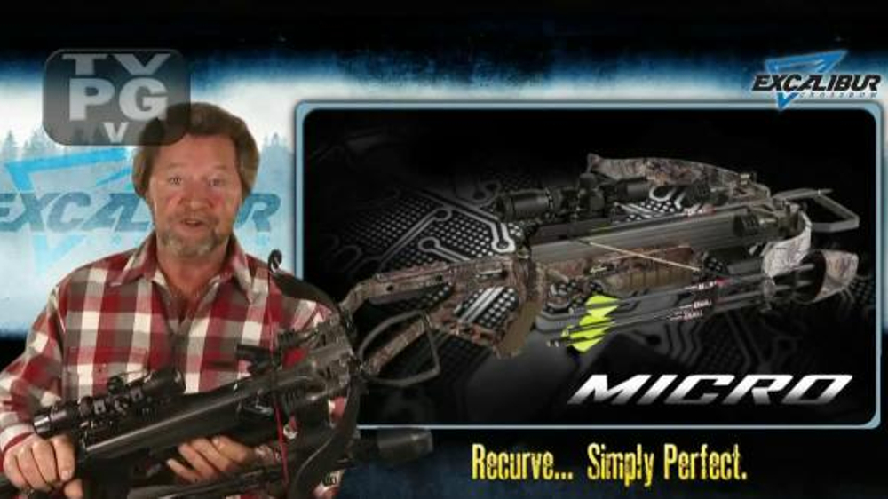 Excalibur Micro 335 Crossbow TV Commercial, 'Specialized Hunting' - Video