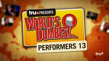 truTV World's Dumbest App TV Spot, 'Experience Dumb' - Thumbnail 1