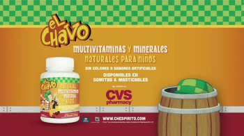 El Chavo Multivitaminas y Minerales For Kids TV Spot, 'Naturales' [Spanish] - Thumbnail 1