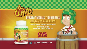 El Chavo Multivitaminas y Minerales For Kids TV Spot, 'Naturales' [Spanish] - 13 commercial airings