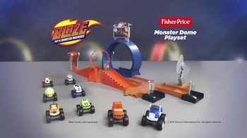 Blaze and the Monster Machines Monster Dome Playset TV Spot, 'Rebuild' - Thumbnail 8