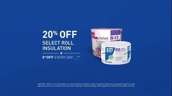 Lowe's TV Spot, 'How to Save Energy' - Thumbnail 4