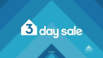 Ashley Furniture Homestore 3 Day Sale TV Spot, 'Three Ways to Save' - 6 commercial airings