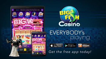 Big Fish Casino TV Spot, 'Everybody's Playing: Wedding' - Thumbnail 9