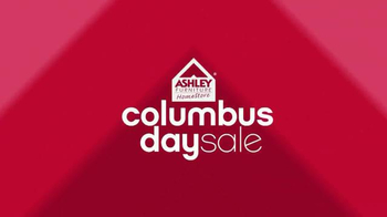 Ashley Furniture Homestore Columbus Day King for Queen Sale TV Spot, 'Save' - Thumbnail 1