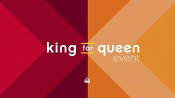 Ashley Furniture Homestore Columbus Day King for Queen Sale TV Spot, 'Save'