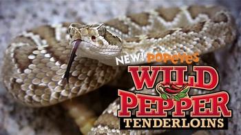 Popeyes Wild Pepper Tenderloins TV Spot, 'Hypnotic Snake' - 23 commercial airings