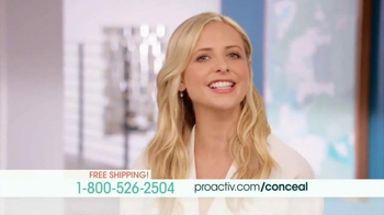 Proactiv TV Spot, 'Repairing Concealer' Featuring Sarah Michelle Gellar - 423 commercial airings