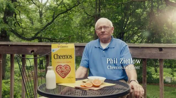 Cheerios TV Spot, 'Phil & Buzz' - 1569 commercial airings