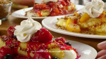 IHOP Fruit 'n Streusel Crepes TV Spot, 'A Single Mom's Reunion' - Thumbnail 4