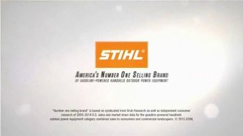 STIHL TV Spot, 'Built on Power' - Thumbnail 8