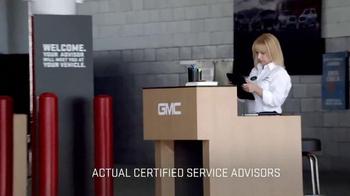 GMC Certified Service TV Spot, 'A Professional Grade Surprise' - Thumbnail 3