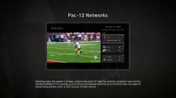 XFINITY X1 TV Spot, 'College Football Cheerleaders' - Thumbnail 6