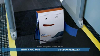 Progressive TV Spot, 'No Fly Box' - Thumbnail 8