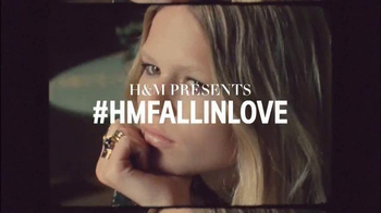 H&M TV Spot, 'Autumn 2015: Fall in Love' Featuring Anna Ewers - 245 commercial airings