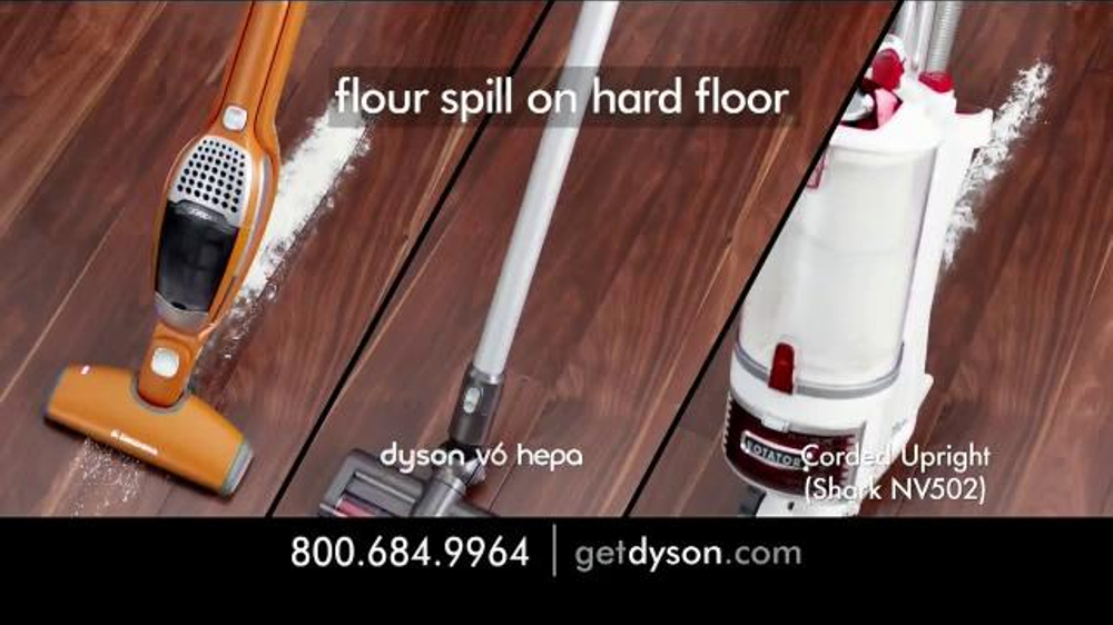 Dyson V6 Hepa Vacuum TV Commercial, 'Small and Powerful'