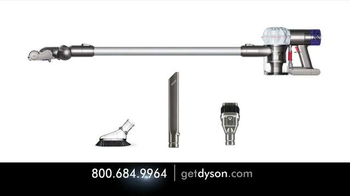 Dyson V6 Hepa Vacuum TV Spot, 'Small and Powerful' - Thumbnail 9