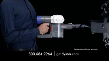 Dyson V6 Hepa Vacuum TV Spot, 'Small and Powerful' - Thumbnail 5