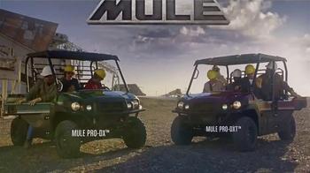 2016 Kawasaki Mule Pro Series TV Spot, 'Strong'