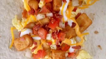 Taco Bell Grande Scrambler TV Spot, 'Real Breakfast Burrito' - Thumbnail 4