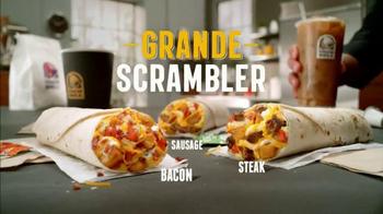 Taco Bell Grande Scrambler TV Spot, 'Real Breakfast Burrito' - Thumbnail 6
