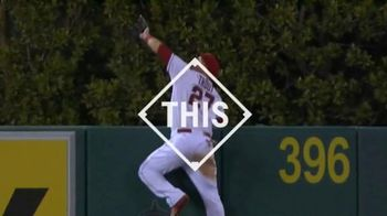 Major League Baseball TV Spot, '#THIS: Trout Scales the Wall' - 11 commercial airings