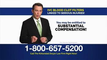 Kirkendall Dwyer LLP TV Spot, 'Blood Clot Filters' - Thumbnail 6