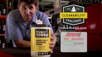 Tub O'Towels TV Spot, 'Cleanability Challenge' - Thumbnail 6