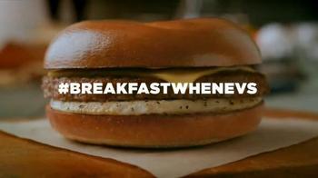Dunkin' Donuts Breakfast Sandwiches TV Spot, '#BreakfastWhenevs' - 51 commercial airings