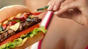 Carl's Jr. Tex Mex Bacon Thickburger TV Spot, 'Borderball' Feat. Elle Evans - Thumbnail 3