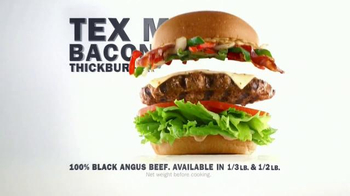 Carl's Jr. Tex Mex Bacon Thickburger TV Spot, 'Borderball' Feat. Elle Evans - Thumbnail 8